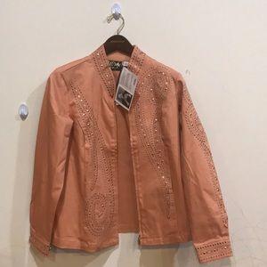 Bob Mackie designed brand new jacket 💞💓❤️💜💚💙